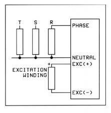 AVR-20 Регулятор напряжения генератора (вых.20А 0-115В)