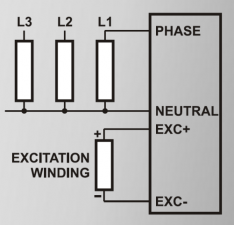 AVR-4 Регулятор напряжения генератора (вых.4А 0-115В)