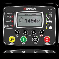 D-300 MPU+J1939+GSM Контроллер для генератора (подогрев дисплея)