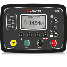 D-500-LITE MPU+J1939+RS-485+GSM Контроллер для генератора (подогрев дисплея)