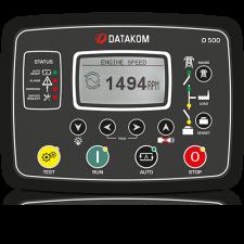 D-500-LITE MPU+J1939+RS485 Контроллер для генератора (подогрев дисплея)