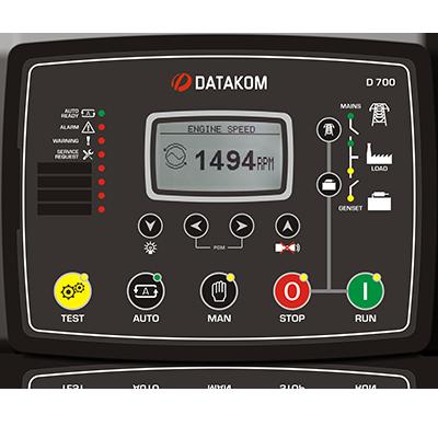 D-700 AMF+GSM Контроллер для генератора (RS-485, Ethernet, GSM)