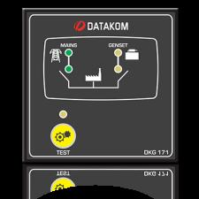 DKG-171 Автоматическое переключение сети (Сух.конт.на запуск генератора)