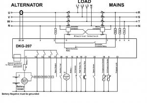 DKG-207 Автозапуск генератора