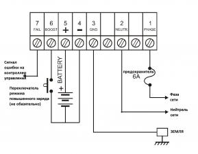 SMPS-245 Datakom зарядное устройство (24В 5А)