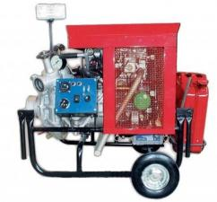 Мотопомпа бензиновая Гейзер МП-20/100 (антикоррозийный насос)