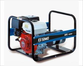 Электростанция бензиновая SDMO HX 4000-С