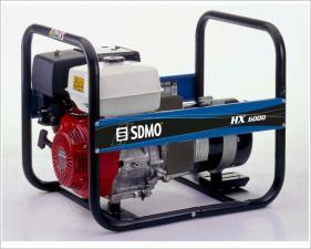 Электростанция бензиновая SDMO HX 6000-C