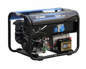 Электростанция бензиновая SDMO TECHNIC 6500 E AVR