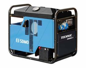 Электростанция бензиновая SDMO TECHNIC 10000 E AVR