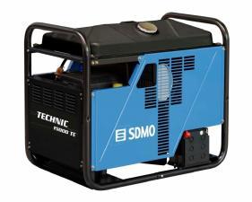 Электростанция бензиновая SDMO TECHNIC 15000 TE AVR