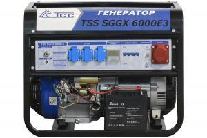 Электростанция бензиновая TSS SGGX 6000E3
