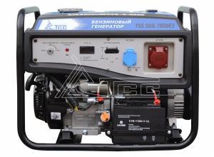 Электростанция бензиновая TSS SGG 7500E3