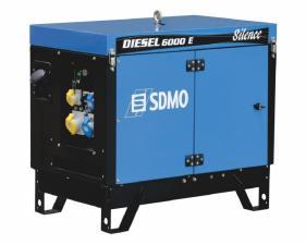 Электростанция дизельная SDMO DIESEL 6000 E AVR SILENCE