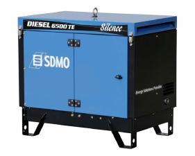 Электростанция дизельная SDMO DIESEL 6500 TE AVR SILENCE