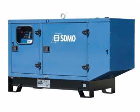 Электростанция дизельная SDMO J44K в кожухе
