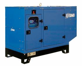 Электростанция дизельная SDMO J110K в кожухе