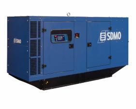 Электростанция дизельная SDMO J130K в кожухе