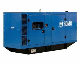 Электростанция дизельная SDMO J250K в кожухе