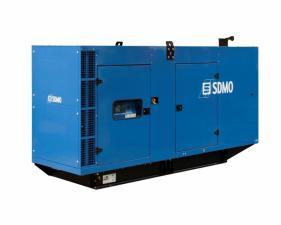 Электростанция дизельная SDMO V400C2 в кожухе