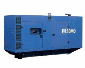 Электростанция дизельная SDMO D275 в кожухе