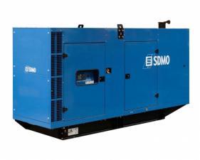 Электростанция дизельная SDMO D440 в кожухе