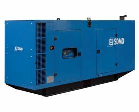 Электростанция дизельная SDMO D550 в кожухе