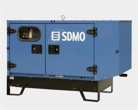 Электростанция дизельная SDMO T12HK в кожухе