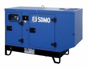 Электростанция дизельная SDMO T12K в кожухе