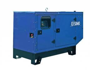 Электростанция дизельная SDMO T22K в кожухе