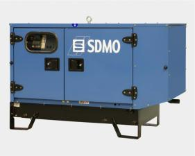 Электростанция дизельная SDMO T11HKM в кожухе