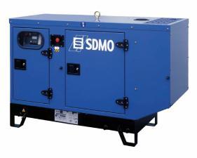 Электростанция дизельная SDMO T9KM в кожухе