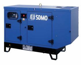 Электростанция дизельная SDMO T12KM в кожухе