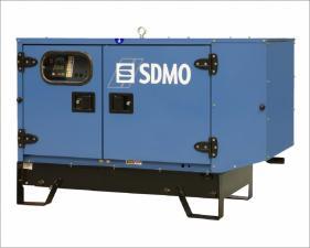 Электростанция дизельная SDMO K9 в кожухе