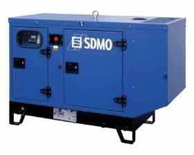 Электростанция дизельная SDMO K22 в кожухе