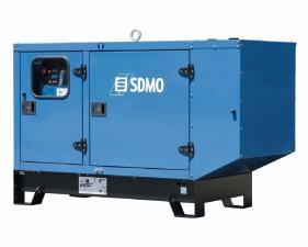 Электростанция дизельная SDMO K33 в кожухе