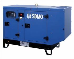 Электростанция дизельная SDMO K12M в кожухе