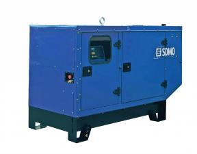 Электростанция дизельная SDMO K28H в кожухе