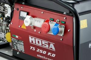 Электростанция дизельная сварочная MOSA TS 250 KD/EL