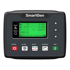 HGM410N  ЖК, 1-3 фазный/контроль тока/ручной и удаленный запуск