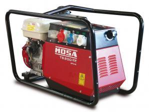 Электростанция бензиновая сварочная MOSA TS 200 BS/CF