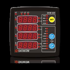 DKM-405-S Анализатор сети, THD, 96х96мм, AC