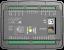 D-300 MK2 MPU+J1939+GSM Контроллер для генератора (подогрев дисплея)
